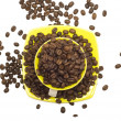 Royalty-Free Stock Photo: Coffee beans and cup