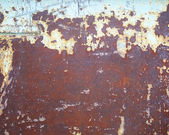 Rusty scratched surface — Stock Photo