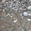Stock Photo: Pebbles background