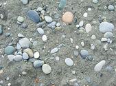 Pebbles background — Stock Photo