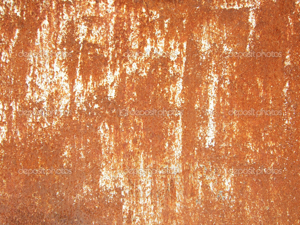 Rusty metallic surface great as a background — Stock Photo #1820707