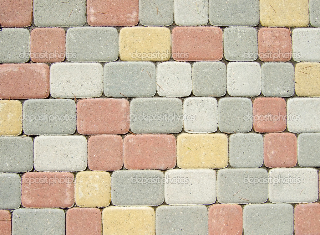 Paving stones great as a background — Stock Photo #1821042