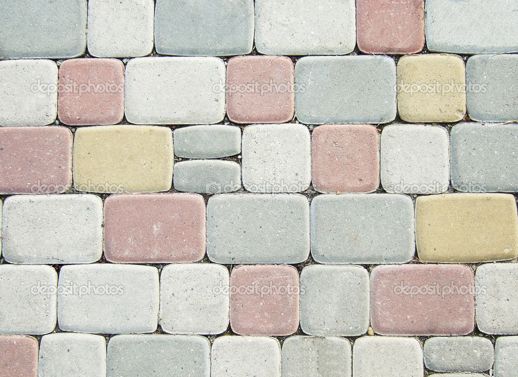 Paving stones great as a background — Stock Photo #1821059