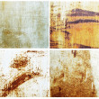 Rusty metallic surfaces - Stock Photo