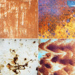 Rusty metallic surfaces — Stock Photo