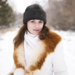 Retrato de invierno — Foto de Stock