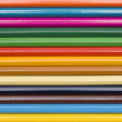 Colored pencils background — Stock Photo