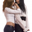 Two woman - Stockfoto