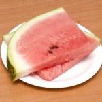 Watermelon slices — Stock Photo #1880637