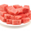 Watermelon cubes — Stock Photo #1880706