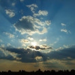 Stockfoto: Sun beams
