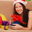 Royalty-Free Stock Photo: Woman with presents