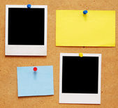Empty photo frames — Stock Photo