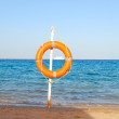 Stock Photo: Life buoy