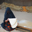 Stock Photo: Bedouin woman