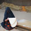Bedouin woman — Stock Photo