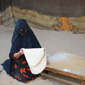 Bedouin woman — Stockfoto