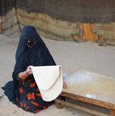 Mulher beduína — Foto Stock