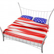 The American bed - Stock Photo