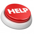 Button HELP - Stock Photo
