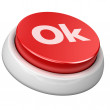 Button Ok - Foto de Stock