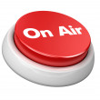 Button on air - Stock Photo