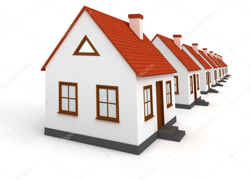 Real estate concept image — Stock Photo #1838550
