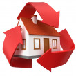 Royalty-Free Stock Photo: Recycle house