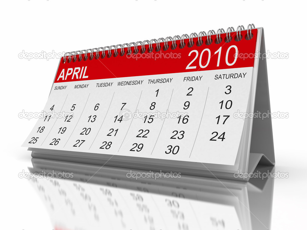 Calendar year 2010 image — Stock Photo #1858377