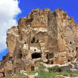 Cave settlement in Cappadocia - Stock Photo