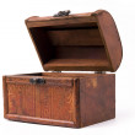 Wood box — Stock Photo