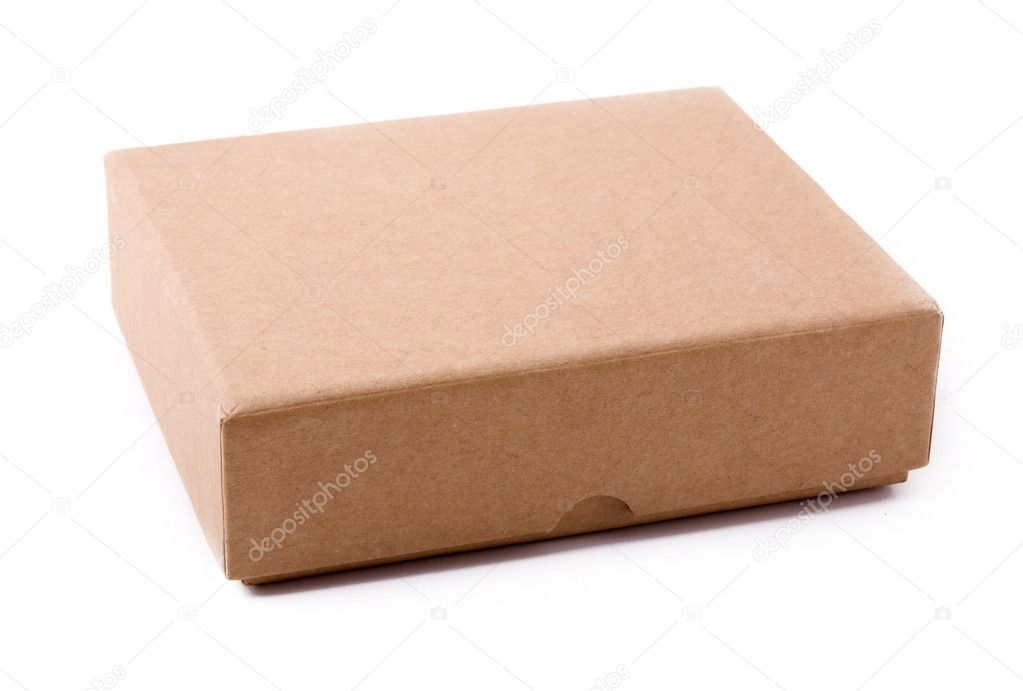 Paper box on a white background  Stock Photo #1788265