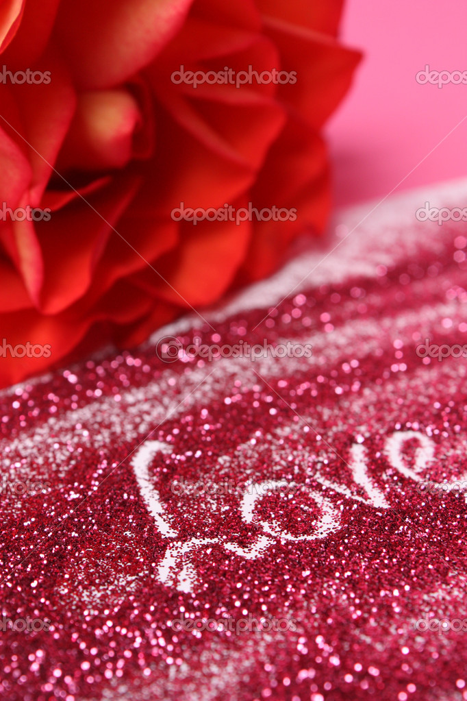 Congratulation by day valentine — Stock Photo #1903174