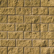 Stock Photo: Wall from decorative bricks