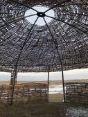 Central Asian yurt — Stock Photo