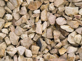Heap of stones — Stock Photo