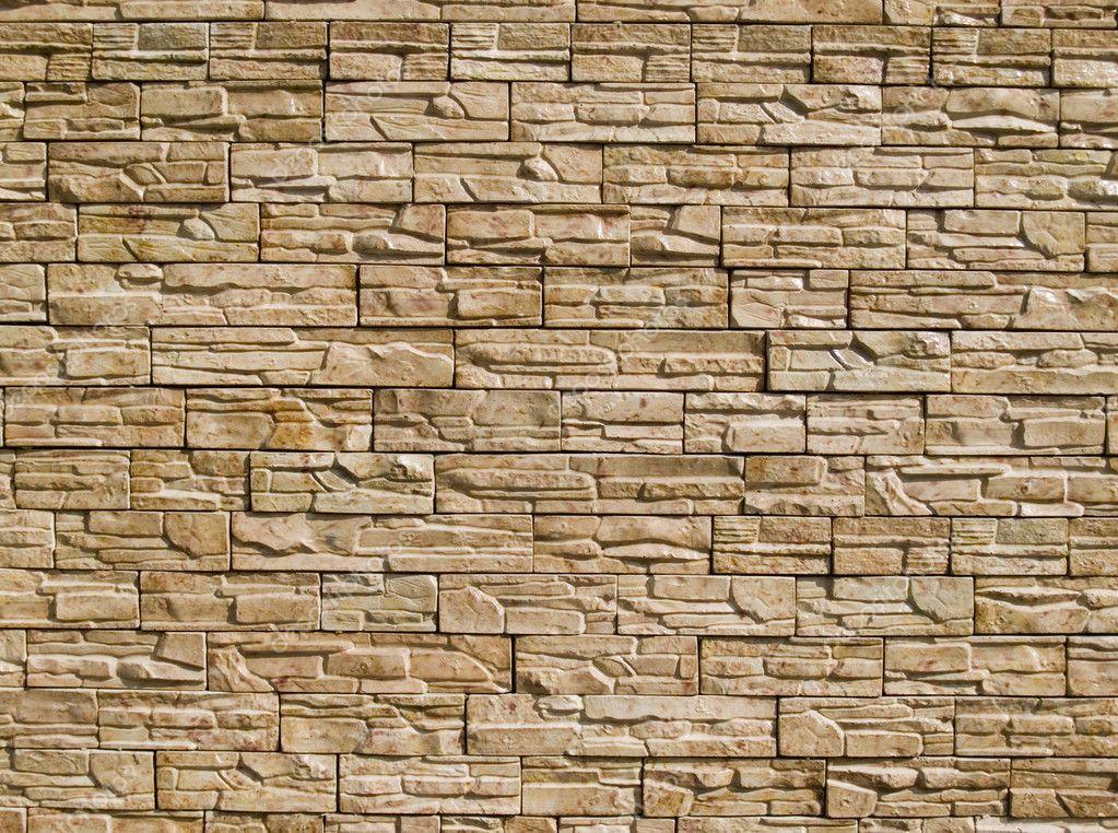 Decorative Stones Wall Stock Photo Rakim 1808846
