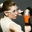 Angle grinder — Stock Photo #1932616
