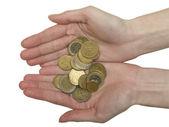 Euro coins — Stok fotoğraf