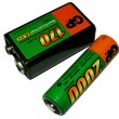 Stock Photo: Batteries
