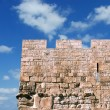 Wall of old city of Jerusalem — Stock Photo