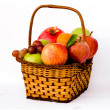 Stock Photo: Basket with fruits