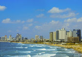 Tel Aviv Beach — Stock Photo