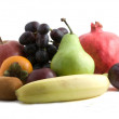 Stock Photo: Bunch of fruits