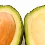 Sections of avokado — Stock Photo