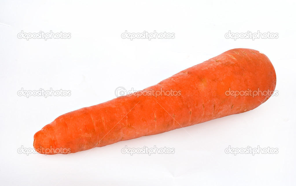 Carrot isolated on white background — Stock Photo #1857600