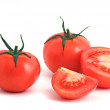 Royalty-Free Stock Photo: Tomatos isolated on white background