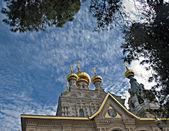 Igreja de maria madalena em Jerusalém — Fotografia Stock