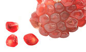 Pomegranate arils — Stock Photo