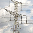 Stock Photo: Overhead power line